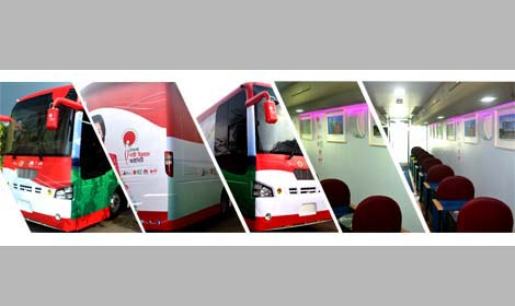 EICHER 20.15 buses have been supplied to Ministry of ICT, Bangladesh.